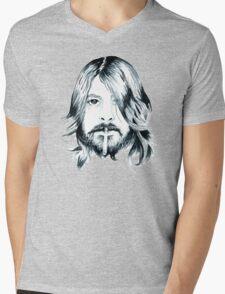Dave Grohl Mens V-Neck T-Shirt