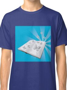 Butterfly cut out of book Classic T-Shirt