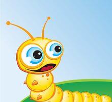 Critterz - Caterpillar - Chomp by Kat Massard