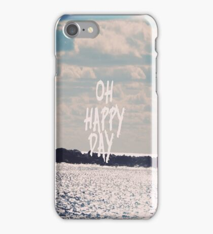 Oh Happy Day iPhone Case/Skin