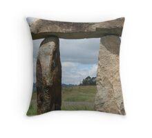 Aussie Stonehenge Throw Pillow
