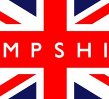 Hampshire UK Flag  Sticker