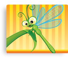 Critterz - Dragonfly 1 Canvas Print
