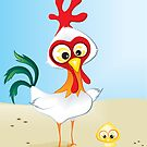 Critterz - Chook & Chick by Kat Massard