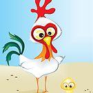 Critterz - Chook & Chick by Kat Massard