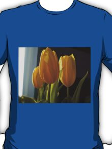 Yellow Tulips in the Winter T-Shirt