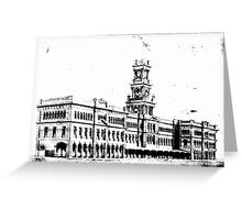 Perth Central Station Greeting Card