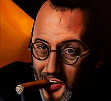 French actor Jean Reno by RmvPortraitsArt