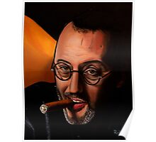 French actor Jean Reno Poster