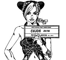 Jolyne Cujoh - Jojo's Bizarre Adventure Photographic Print