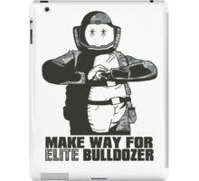 "Bulldozer - ""Make Way For Elite Bulldozer"" iPad Case/Skin"