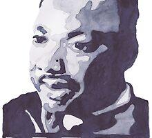 Martin Luther King Jr. by bridgetdav