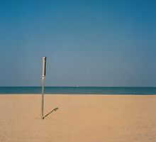 Empty Beach  by Debja