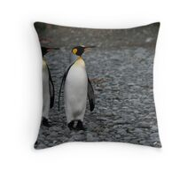 Penguin Duo 3 Throw Pillow