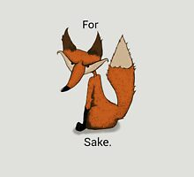 For Fox Sake! Womens Fitted T-Shirt