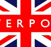Liverpool UK Flag Sticker