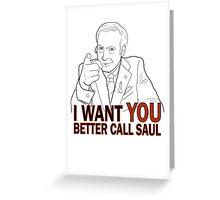 Better Call Saul 1 Greeting Card