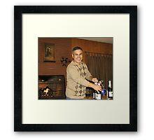 Pastor Hank Framed Print