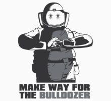 "Bulldozer - ""Make Way For The Bulldozer"" by Von-Grimm"