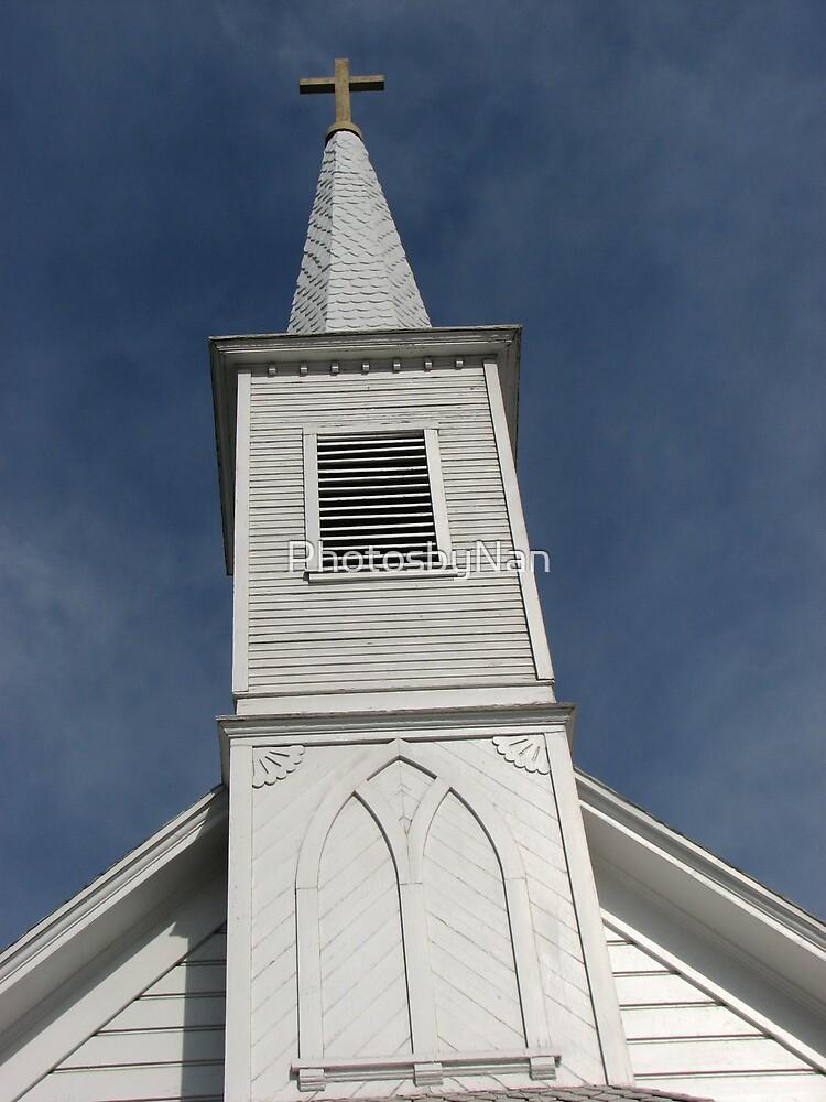 Church built in 1888--Pico Rivera CA by PhotosbyNan
