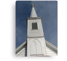 Church built in 1888--Pico Rivera CA Metal Print
