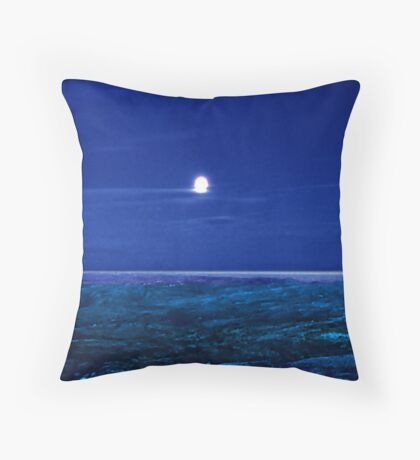 Baffin Island Moon Throw Pillow