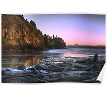 Cape Disappointment Lighthouse Washington Poster