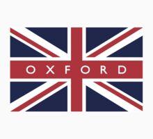 Oxford UK Flag  by ukedward