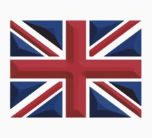 British, Union Jack, Chisel Hard, UK, United Kingdom, Flag, Blighty T-Shirt