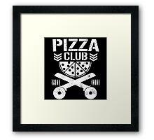 Pizza Club Framed Print