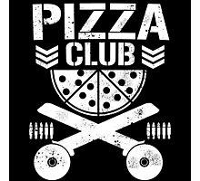 Pizza Club Photographic Print