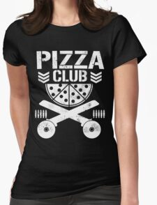 Pizza Club Womens Fitted T-Shirt