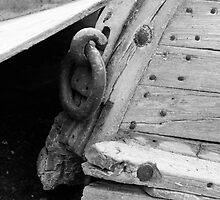 Old boat by squires