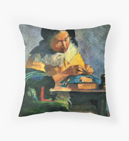 Busy Woman Throw Pillow