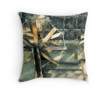 Gandhi Charkha Throw Pillow