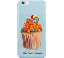 Cupcake - The Party Animal iPhone Case/Skin