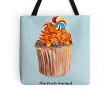 Cupcake - The Party Animal Tote Bag