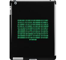 Binary – Get Laid iPad Case/Skin