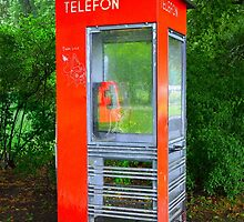 Norwegian Telephone Booth by Catherine Sherman
