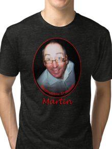 Martin Redbubble IronMan Tri-blend T-Shirt