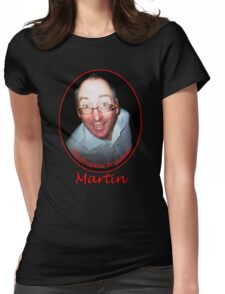 Martin Redbubble IronMan Womens Fitted T-Shirt