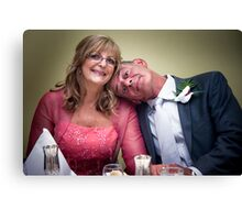 Happily Married Canvas Print