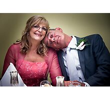 Happily Married Photographic Print