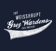 The Weisshaupt Grey Wardens Kids Tee
