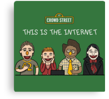 This is the internet Canvas Print