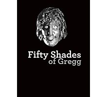 Fifty shades of Gregg ( Old Gregg from The Mighty Boosh ) Photographic Print