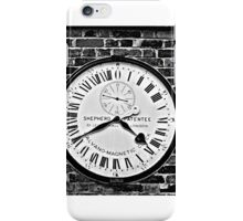 GMT Clock iPhone Case/Skin