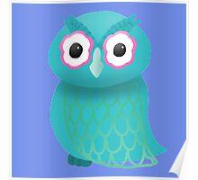 Blue Owl Poster