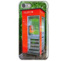 Norwegian Telephone Booth iPhone Case/Skin