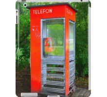 Norwegian Telephone Booth iPad Case/Skin